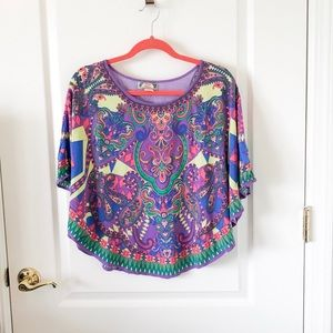 Cute poncho style top